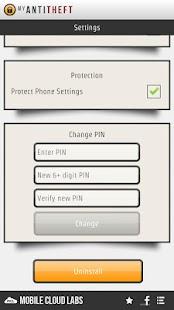 My AntiTheft & Antivirus - screenshot thumbnail