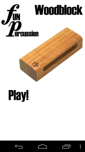 Fun Percussion Woodblock