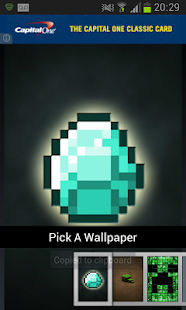 Wallpapers for Minecraft: miniatura de captura de pantalla