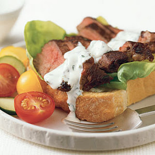 Steak Sandwiches with Tarragon Mayonnaise