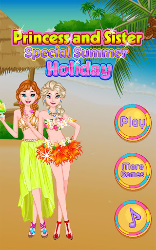 Princess and Sister Holiday