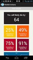 Screenshot of Morbid Death Calculator