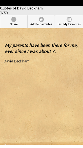 Quotes of David Beckham