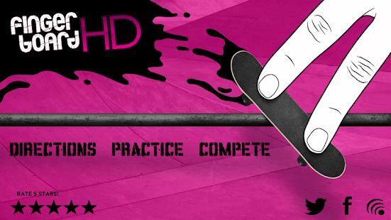 Fingerboard HD: Skateboarding