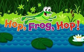 Screenshot of TVOKids Hop Frog Hop