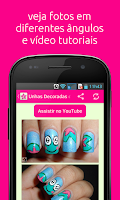 Screenshot of iEsmalte Nail Art