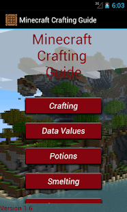 Crafting Table Minecraft Guide - screenshot thumbnail