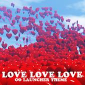Go Launcher Love love love