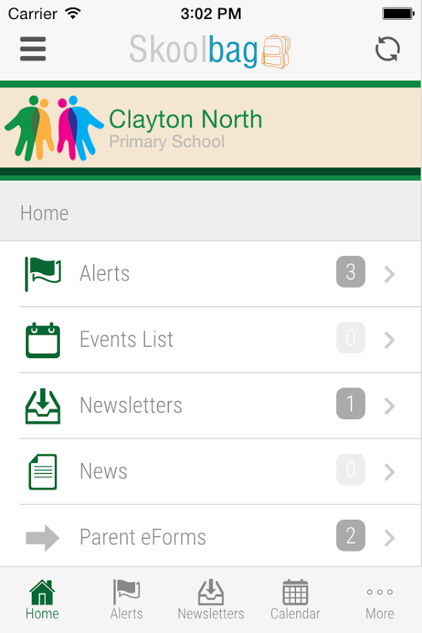 Clayton North Primary School- screenshot