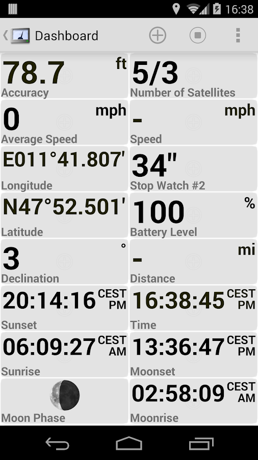 GPS Essentials - screenshot