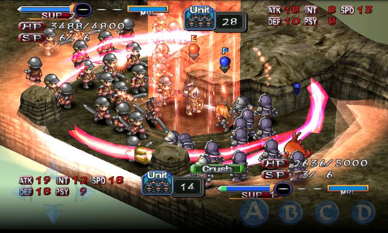 SRPG Generation of Chaos - screenshot