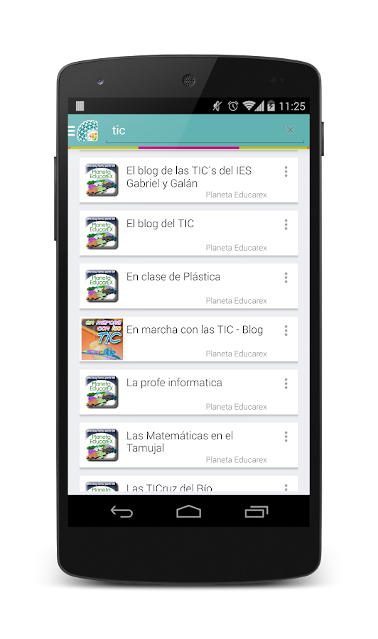 Planeta Educarex- screenshot