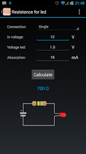 Electrical calculations - screenshot thumbnail
