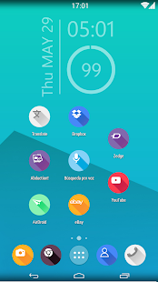 saga 2 icon pack theme nova - screenshot thumbnail