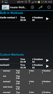 Insane Workout Trainer - náhled