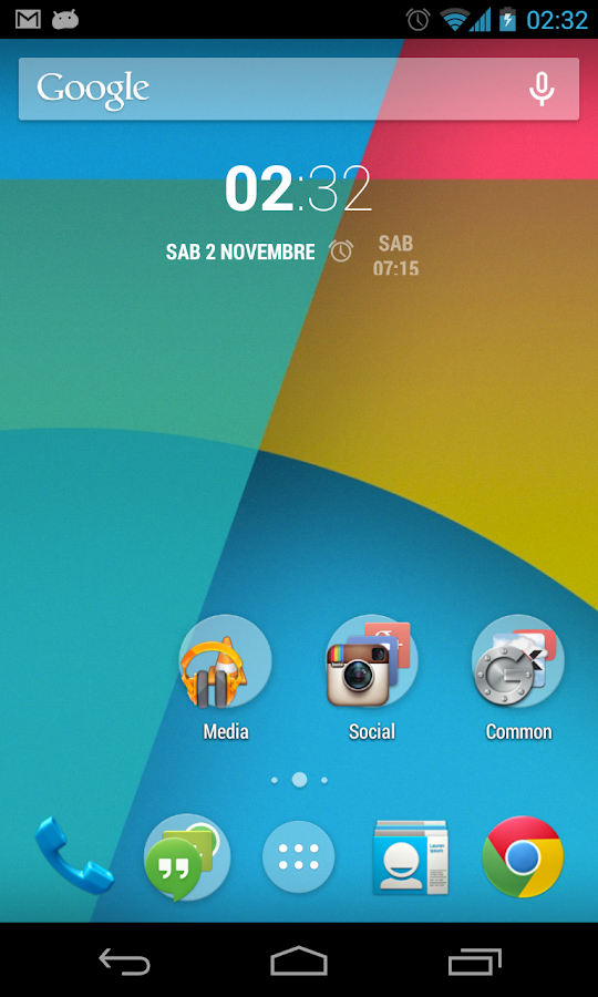 Nexus 5 Live Wallpaper - screenshot