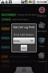 Not Call Log Classic - screenshot thumbnail
