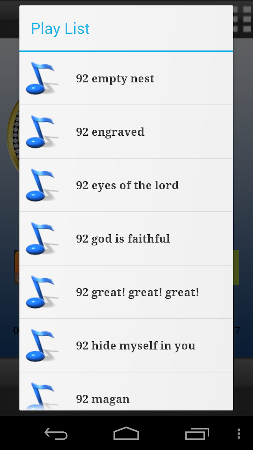 All Christian Songs- screenshot
