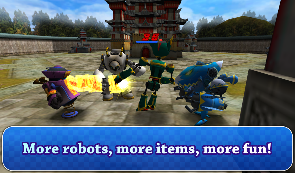 Giant Robot Battle - screenshot