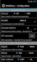 Screenshot of MultiDeco