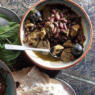 Ghormeh Sabzi (Veal and Kidney Bean Stew).