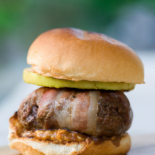 Sheriff Stubb's Gorgonzola Burgers.