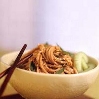 Sesame-Peanut Noodles