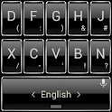 Keyboard Theme Frame Silver