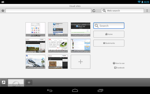 Sleipnir Mobile - Web Browser - screenshot thumbnail