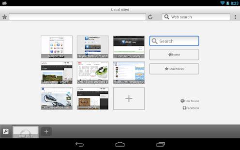 Sleipnir Mobile - Web Browser Screenshot 12