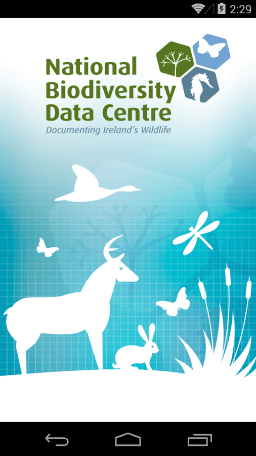 Biodiversity Data Capture- screenshot