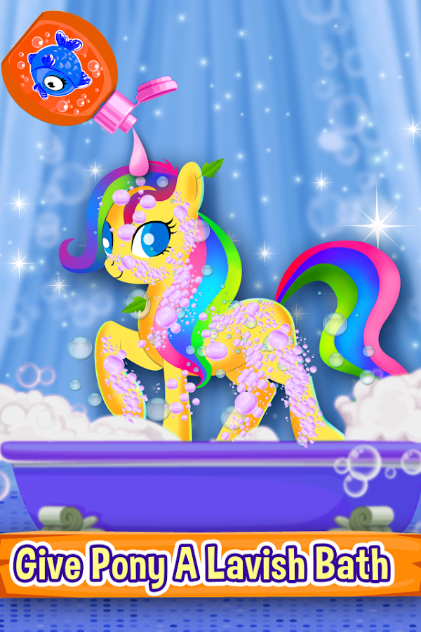 Little Pony Makeover Kids Game Android Apps On Google Play - Artist gives classic nes game screenshots a modern makeover and its amazing