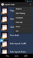 Screenshot of Uganda Radio