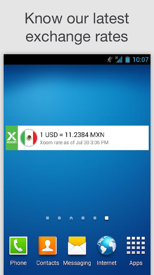 Xoom Forex Rates