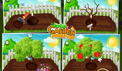 Игра Kids Garden Makeover для планшетов на Android