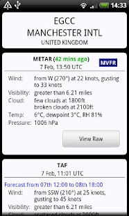 AirReport Lite - METAR & TAF - screenshot thumbnail
