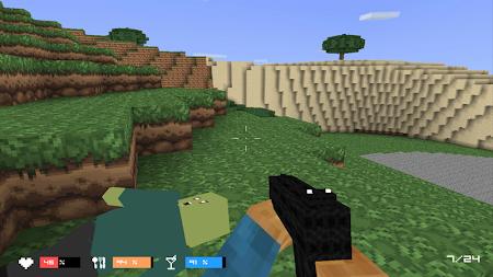 Cube Gun 3D : Zombie Island 1.0 screenshot 44160