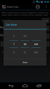 WakeTube - YouTube Alarm Clock - screenshot thumbnail