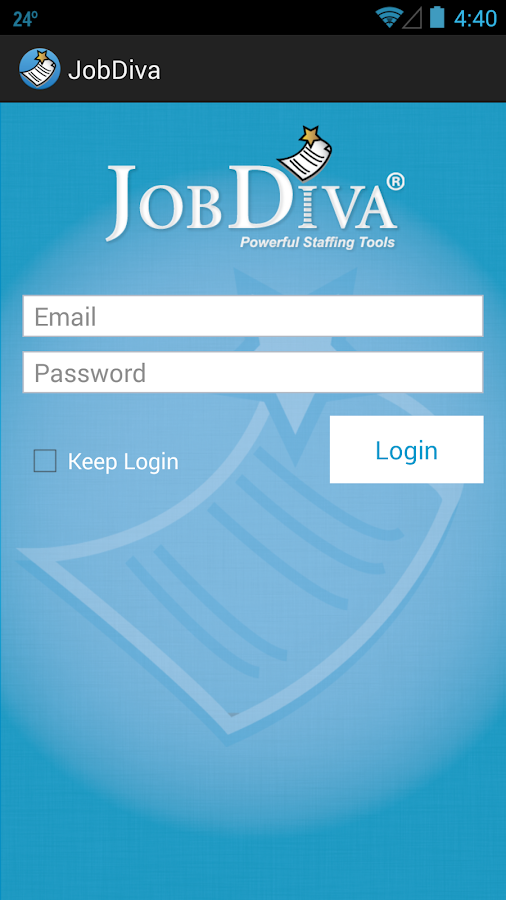 JobDiva - screenshot