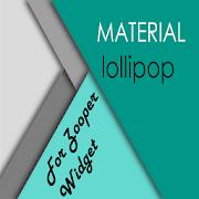 material lollipop ZooperWidget