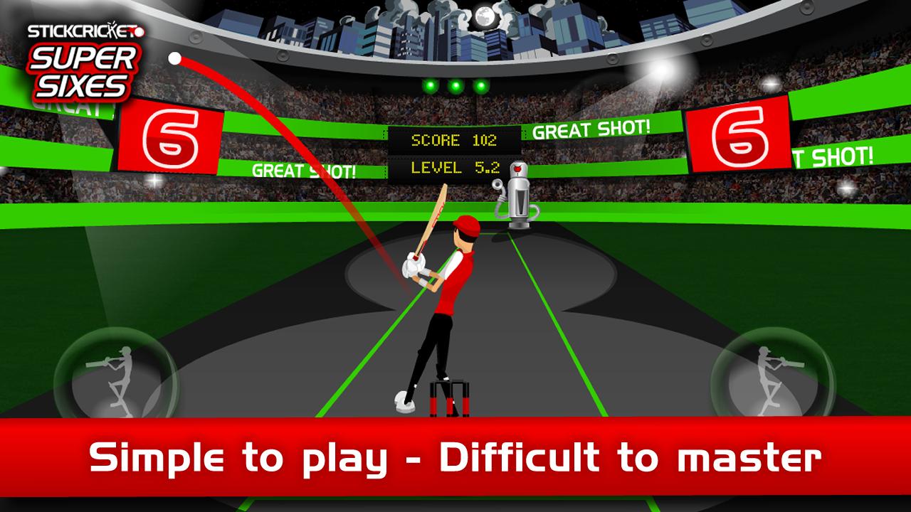 Stick Cricket Super Sixes screenshot #13