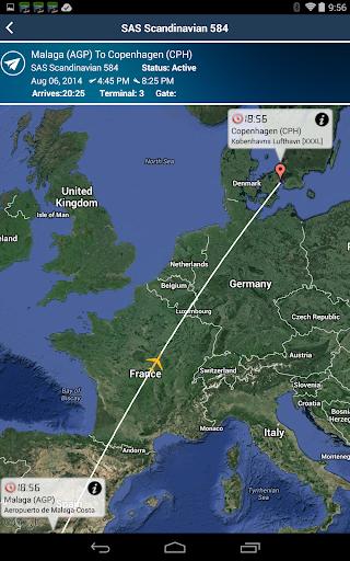 Copenhagen Airport+FlightTrack