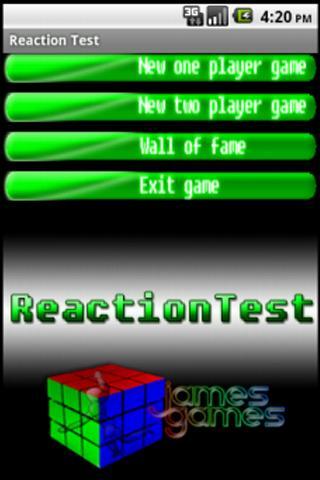 2-Player Reaction Test - screenshot