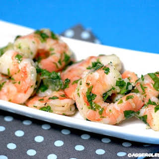 Garlic and Parsley Shrimp Salad.