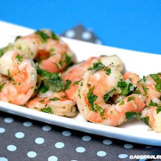 Garlic and Parsley Shrimp Salad.