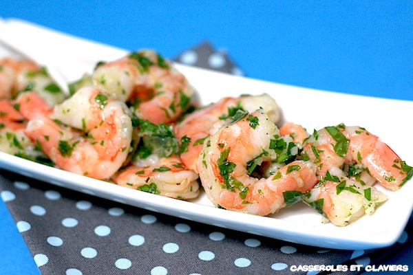 Garlic and Parsley Shrimp Salad Recipe