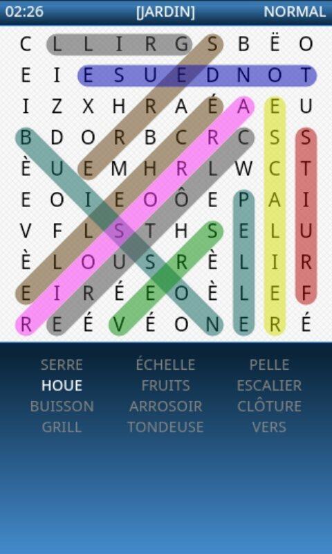 Mots Mêlés - screenshot