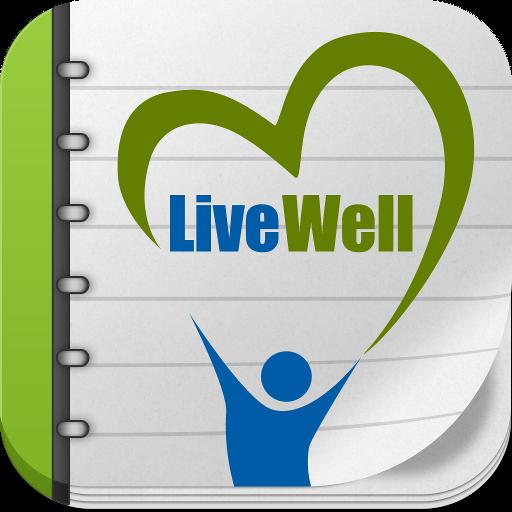 Live-Well LOGO-APP點子