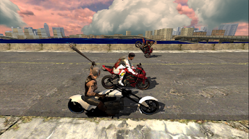 Screenshot of Race Stunt Fight 3!    ★FREE★