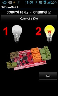 Zeno - Applicazioni per Android, iPhone e iPad: App for PLC Relay 2